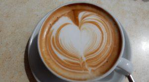 Cappuccino-Herz